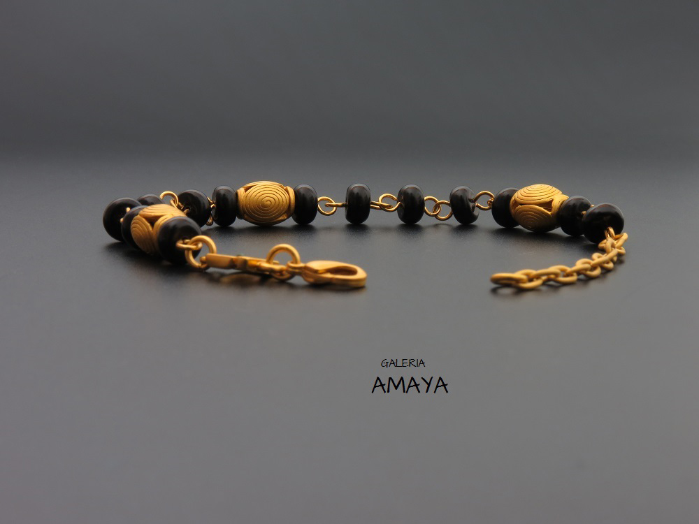 Pre-Columbian jewellery fashion bracelet - By GaleriaAMAYA.com