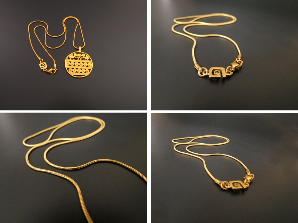 Galeria AMAYA Gold Plated Chain